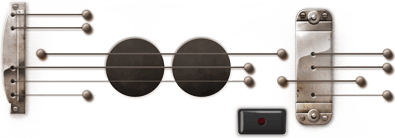 Google Logo: Les Paul's 96th Birthday - American, songwriter and inventor.