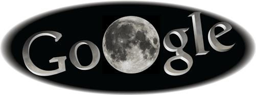Google Logo: June 2011 Total Lunar Eclipse