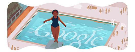 Google Logo: London 2012 : Diving